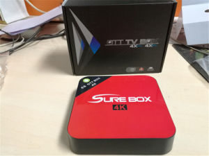 fashion IPTV E6 Model Android 6.0 4K TV Box pictures & photos