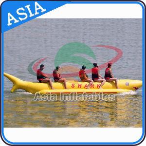 Inflatable Tube Banana Boat, Inflatable Shark Boat, Water Banana Boat pictures & photos