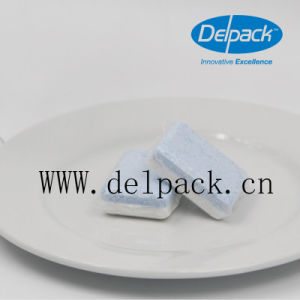 OEM&ODM No Phosphate Blue-White Lemon Scent Washing Detergent Tablets, Auto Dishwashing Detergent Tablets pictures & photos