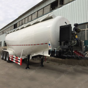 3 Axle 30t Tank/Tanker Semi Trailer for Transportation Bulk Cement pictures & photos