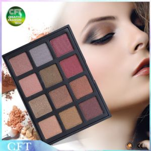 Free Sample Exquisited Naked Waterproof 12 Colors Makeup Eye Shadow pictures & photos