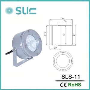 3W IP65 LED Spotlight with Ce Report (SLS-11) pictures & photos