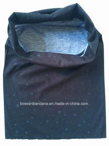 China Factory Produce Custom Logo Printed Polyester Microfiber Magic Neck Tubular Scarf pictures & photos
