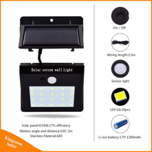 Seperated Solar LED Powered Garden Lights for Indoor Outdoor Security Emergency Lighting pictures & photos