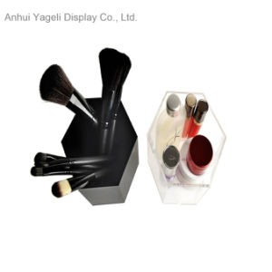 Professional Excellent Quality Clear Acrylic Makeup Brush Holder pictures & photos