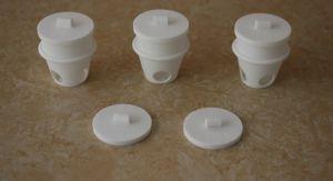 Leco 99.5% Alumina Ceramic Crucible pictures & photos