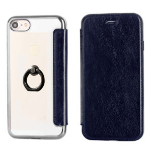Clamshell 2 in 1 Leather Phone Case for iPhone pictures & photos