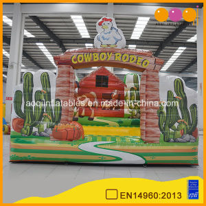 Amusement Park Jungle Inflatable Bull Rodeo Game for Sports Game (AQ16339) pictures & photos
