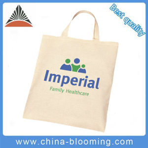Cheap Reusable Promotional Handle Carrrier Canvas Shopping Bag pictures & photos