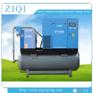 7.5kw Cimbined Compact Air Compressor China Supplier with Air Dryer and Air Tank pictures & photos