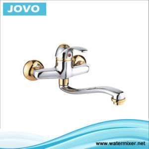 Sanitary Ware Single Handle Wall-Mounted Kitchen Mixere&Faucet Jv73705 pictures & photos