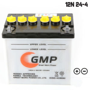 Garden Batterie De Tondeuse 12n24-4 12V 24ah for European Market pictures & photos