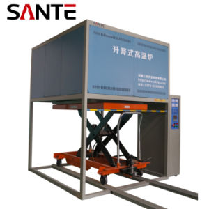High Temperature Elevator Electric Load Industrial Lift Heating Furnace Bell Furnace 1700 Degrees pictures & photos