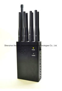 8antenna Portable Jammer for 3G/4G Cellphone, GPS Lojack pictures & photos