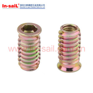 Thread Metal Inserts for Wood pictures & photos