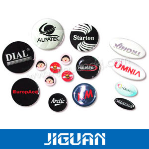 Beautiful Self-Adhesive Colorful Clear Round Epoxy Stickers pictures & photos