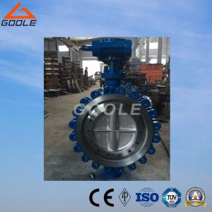API609 Wafer Lug Type Metal Seated Butterfly Valve (GALD373H) pictures & photos