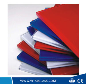 Silkscreen Colour Painted Glass with CE&ISO9001 pictures & photos