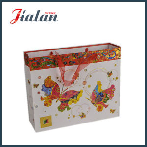 Customize with Hot Stamping Shopping Carrier Paper Gift Bag pictures & photos