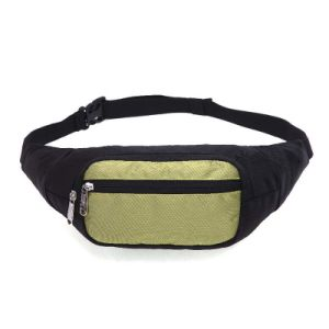 Men Casual Waterproof Nylon Sport Fanny Pack Belt Waist Bag pictures & photos