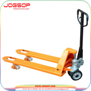 Hand Pallet Truck with Enclosure Hydraulic Pump pictures & photos