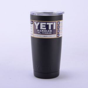 Colorful 20oz 304 Stainless Steel Yeti Rambler Tumbler Cooler Cup pictures & photos