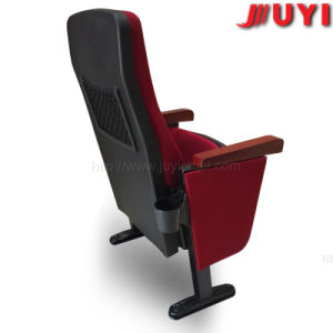 Jy-625 Folding Cover Fabric English Movies Wood Church Seat Part Auditorium Hall Theater Chair pictures & photos