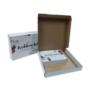 Cmyk Custom Printed Gift Corrugated Mailing Box pictures & photos