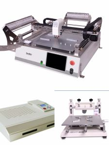 High Precision Production Line for SMT, Printer+Reflow Oven pictures & photos