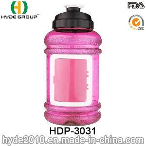 2017 Best Quality 2.2L Plastic PETG Water Bottle, BPA Free Portable Plastic 2.2L Sport Gym Water Bottle (HDP-3031) pictures & photos