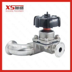 Stainless Steel Hygienic U-Body Three Ways Diaphragm Valves pictures & photos