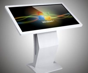 Advertising LCD Display Floor Standing 43 Inch Touch Screen Kiosk pictures & photos