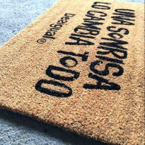 Natural Gold Brown Coconut Coco Coir Fiber Koko Welcome Entrance Outdoor Floor Door Mats pictures & photos