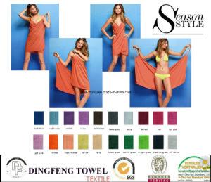 Fashion Microfiber Magic Design Beach Towel Wrap Dress pictures & photos