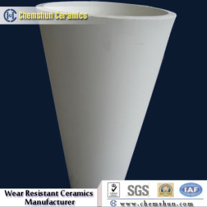 92%&95% Chemshun Wear Resistant Ceramic Cone Tube From China Manufacturers pictures & photos