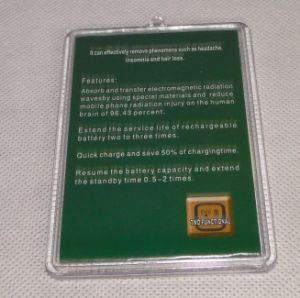 Reduce Radiation Sticker with Japan Technology pictures & photos