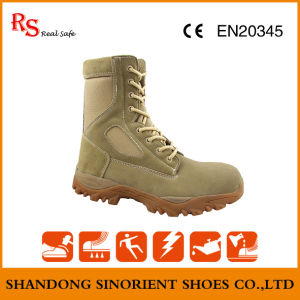 Waterproof Cow Suede Leather German Military Boots Sns737 pictures & photos