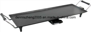 Ceramic Coated Electric Griddle, with Big Grill Surface 70X23.5cm, Power 1800watts pictures & photos
