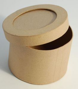 Paper Cardboard Customized Round Folding Cardboard Box Price pictures & photos