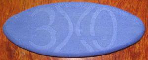 EVA 1 EPE NBR PVC EPDM Foam PU Coating Egg Type Yoga Block