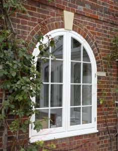 European Styple PVC/UPVC Casement Arch Window (BHP-CWA13) pictures & photos