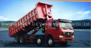 Supply Sinotruk HOWO 8X4 Tipper with Lowest Price