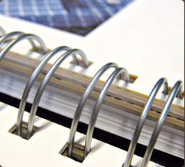 Double Loop Book Binding Steel Wire pictures & photos
