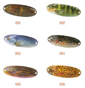 Popular Design 70mm 11g Fishing Spoon Lures pictures & photos