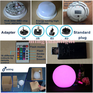 RGB LED up-Down Lift Ball LED Effect Light (YS-527) pictures & photos