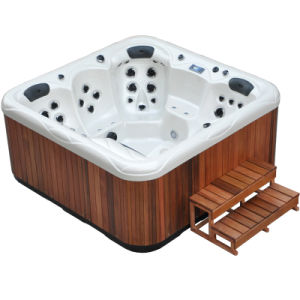 acrylic massage hot tub spa pictures & photos