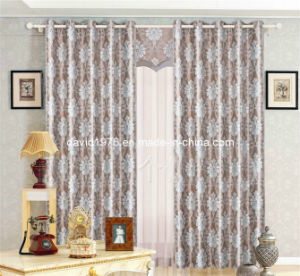 Flower Jacquard Window Grommet Panel/Curtain (SZSME014)