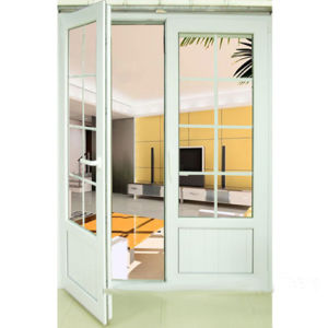 PVC Doors Profile of Caement with Best Quality UPVC Casement Door pictures & photos