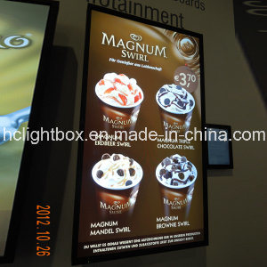 Ultra Thin Light Box with Acrylic LGP and Aluminum for Menu Board pictures & photos