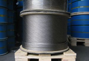 7X19 Steel Wire Rope Zinc Plated pictures & photos